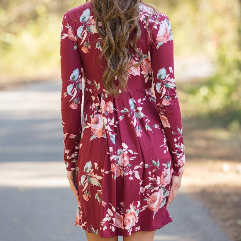Leilani - Floral Dress