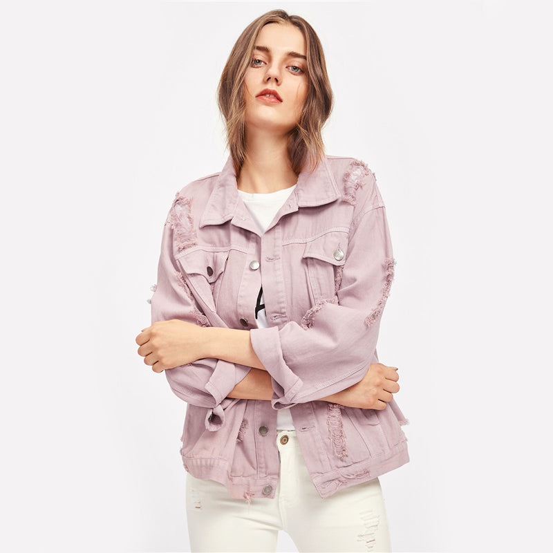 Esme - Denim Boyfriend Jacket