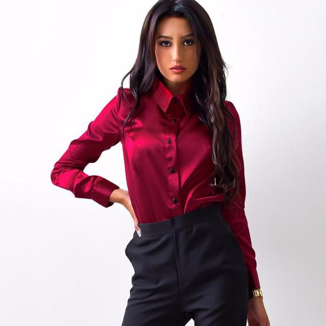 Don't Mess With Me - Silk Blouse