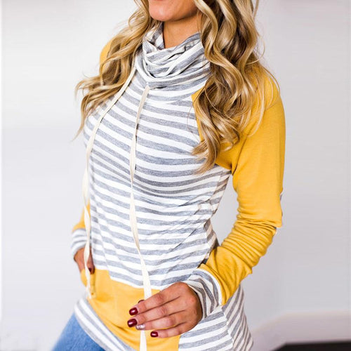 Weslie - Striped Sweatshirt