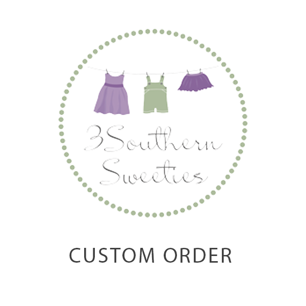 Custom Order for Katy Goins