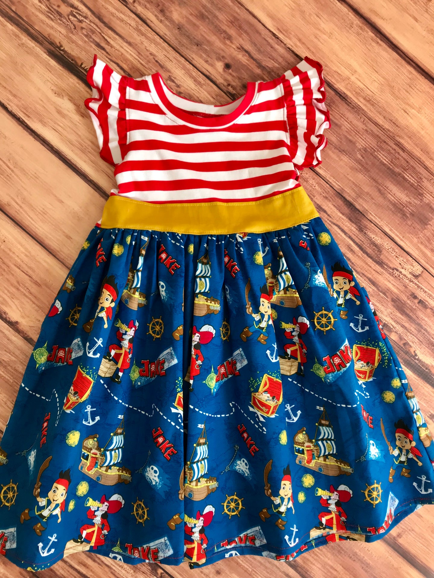 Pirates Inspired Dress Size 3