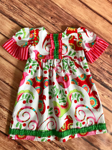 Christmas Bird Dress Size 3