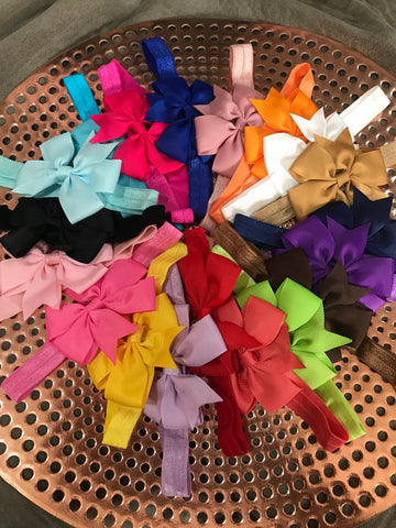 Pretty Bow - Multiple Colours