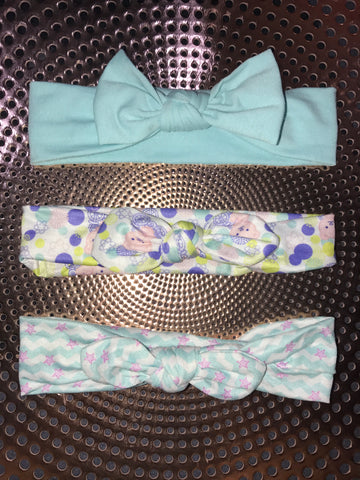 Multi coloured Bow Headbands
