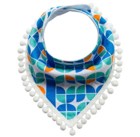 Green, Blue and Orange - Bib