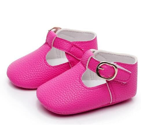 Hot Pink Mary Jane Shoes