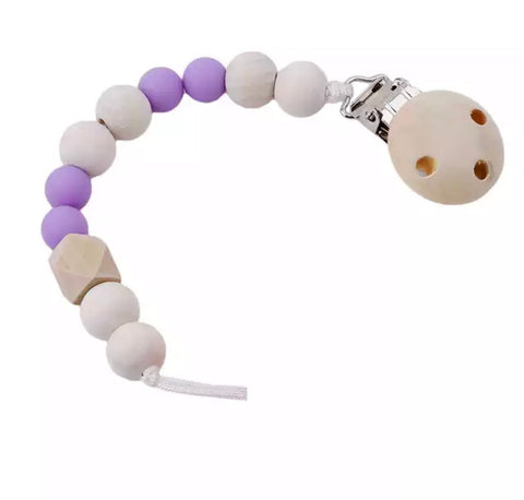 Wooden Dummy Chain - Purple