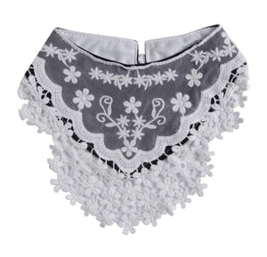 Black Lace Bandana Bib