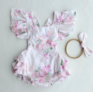 Mellisa Romper Light Pink