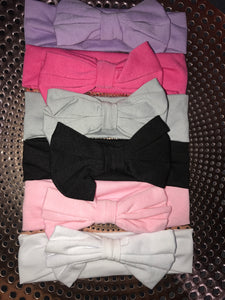 Plain Bow Headbands