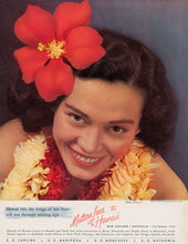 Load image into Gallery viewer, Hawaii, Songs of Her Heart, Matson Lines Advertisement, 1938