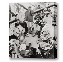 Load image into Gallery viewer, High Tea On The S.S. Lurline, Matson Lines Photograph, 1930s