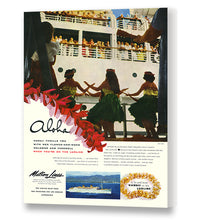 Load image into Gallery viewer, Hula Boat Day, Matson Lines Advertisement, 1952