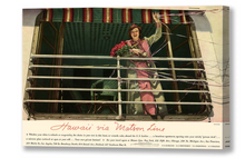 Load image into Gallery viewer, Lanai Aboard the S.S. Lurline, Matson Lines Advertisement, 1936