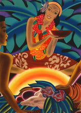 Load image into Gallery viewer, Luau, Matson Lines Menu Cover, 1930s