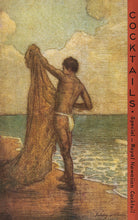 Load image into Gallery viewer, Fishing in Hawaii, Matson Lines Menu Cover, 1920s