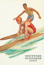 Load image into Gallery viewer, Surf, Matson Lines Souvenir Passenger List, 1932