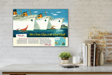 Load image into Gallery viewer, New Cruise Ships to the South Pacific, Matson Lines Advertisement, 1948