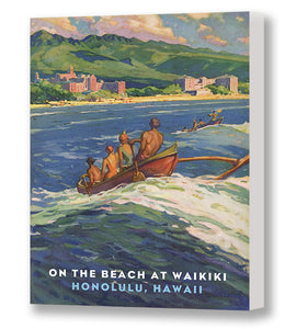 Outrigger to Waikiki, Matson Lines Brochure Cover, 1930s