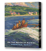 Load image into Gallery viewer, Outrigger to Waikiki, Matson Lines Brochure Cover, 1930s