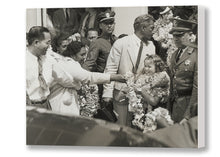 Load image into Gallery viewer, Shirley Temple Aloha Tower Arrival, Matson Lines Photograph, 1937