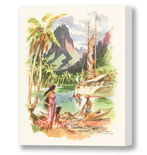 Load image into Gallery viewer, Tahiti, Matson Lines Menu Cover, 1960