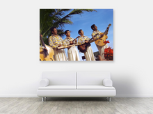 Load image into Gallery viewer, The Royal Hawaiian Musicians, Matson Lines Photograph, late 1940s