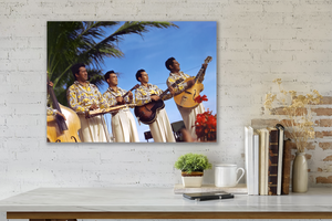 The Royal Hawaiian Musicians, Matson Lines Photograph, late 1940s