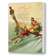 Load image into Gallery viewer, Make Friends in Hawaii, Matson Lines Advertisement, 1937