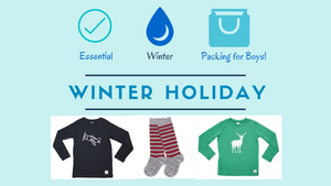 Winter Packing for Boys