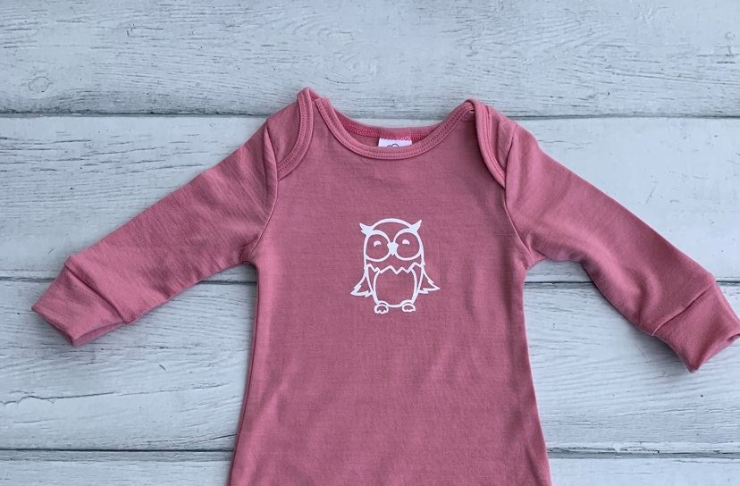 Baby Gown - Owl