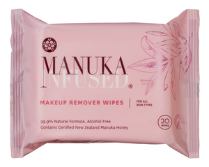Manuka Infused - Makeup Remover Wipes