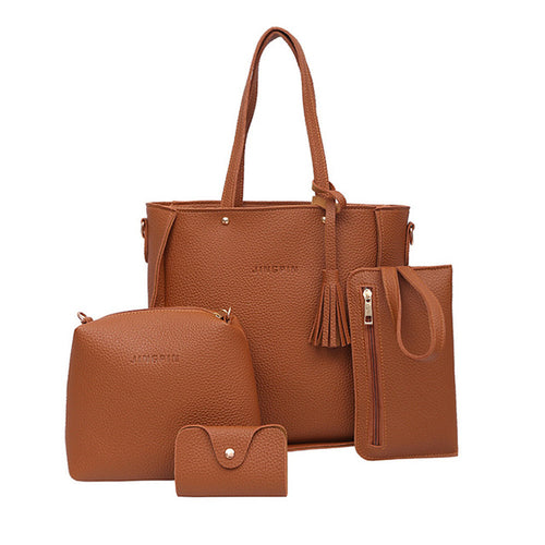 Four Piece Handbag Set