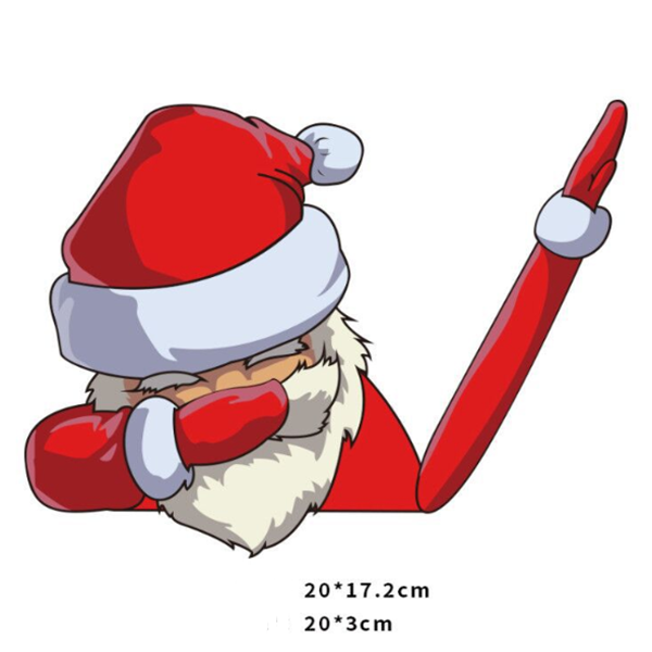 Christmas Wiper Car Sticker