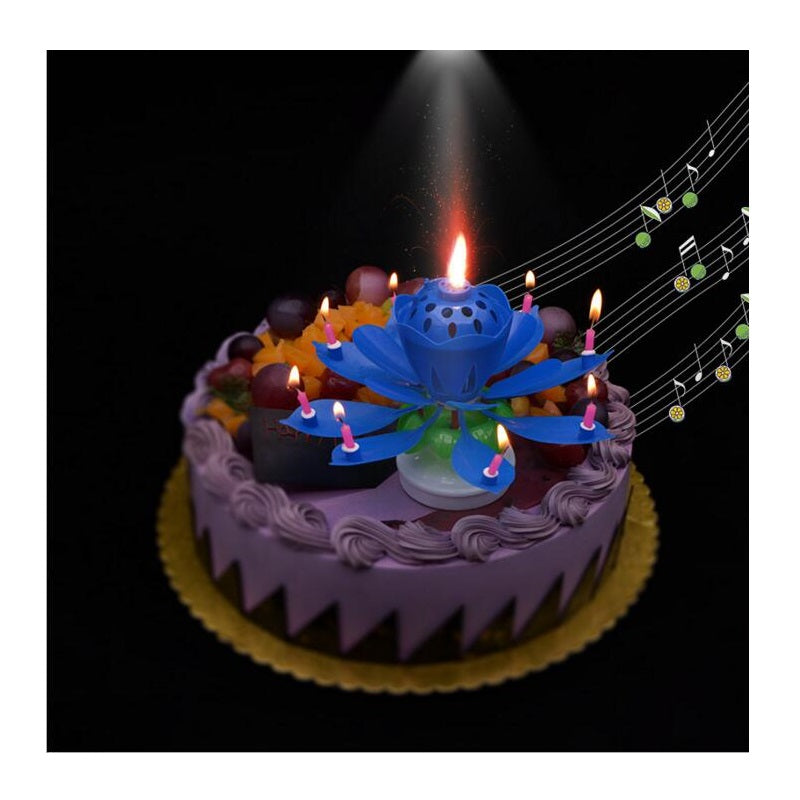 Colorful Birthday Candle Gift