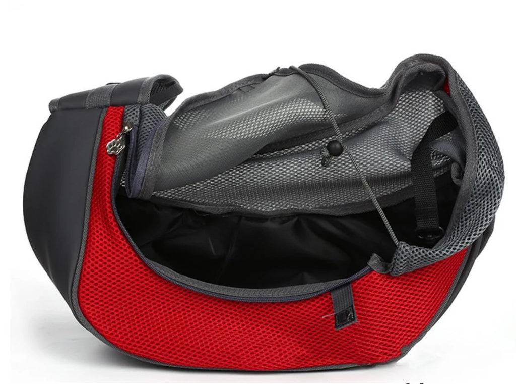 Pet carrier sling for dogs and cats