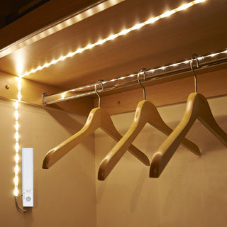 Flexible Motion Sensor  60 LED Strip Light Lamp