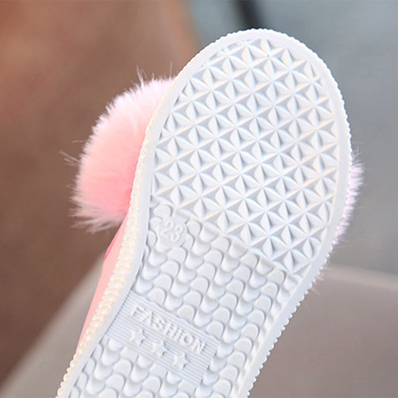 Cute rabbit ear shoes