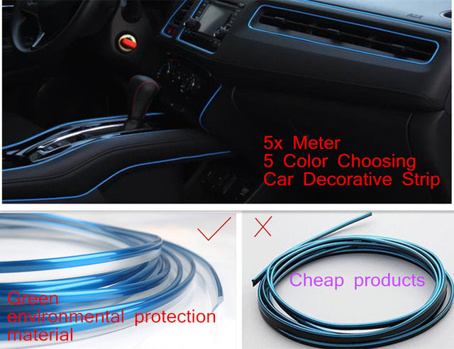 5 Meter Car Side Rein PVC decorative Tape