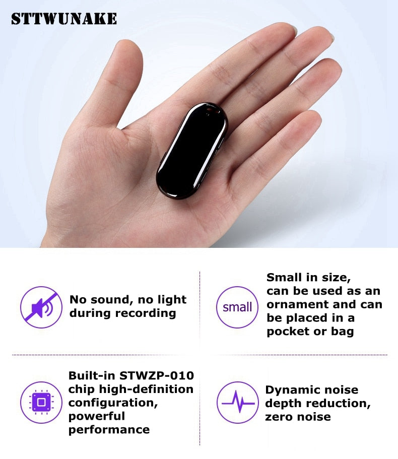 58 hours Mini long-distance Hidden Voice Recorder