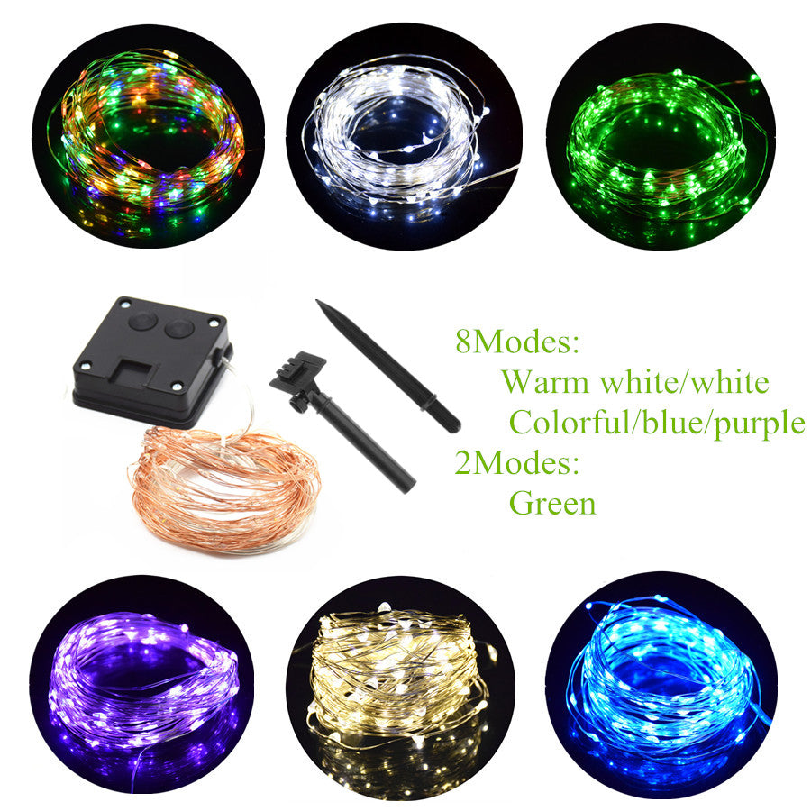 Waterproof Solar Power Lamp For Garden Decoration