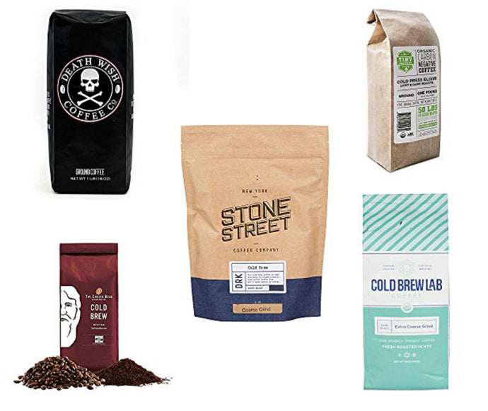 Our Top Five Favorite Coffees For Cold Brewing