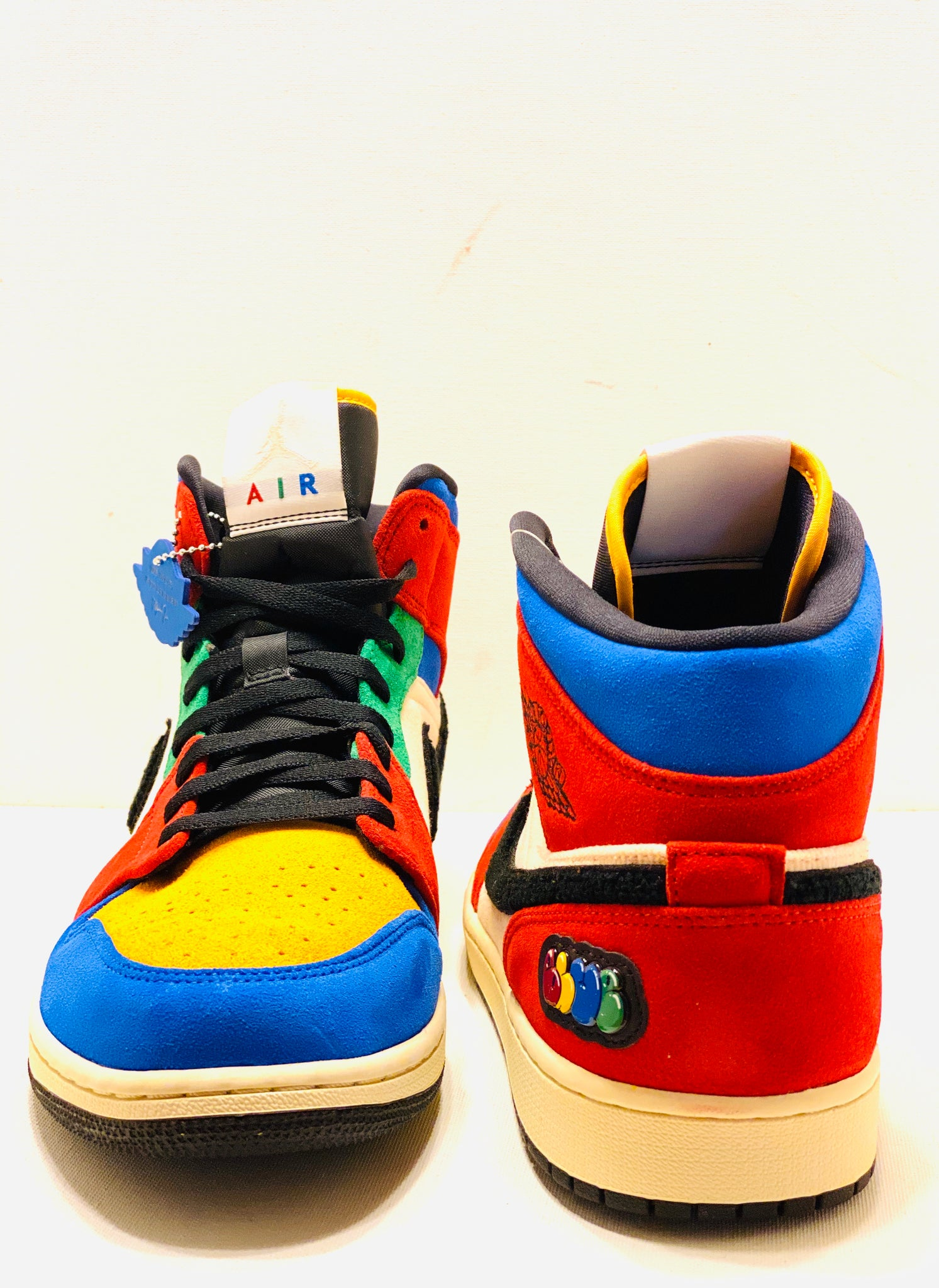 Air Jordan 1 Mid Fearless Blue The Great Labcity Shop