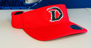 DRAGONS SIDELINE VISOR (Sunday Red Edition)