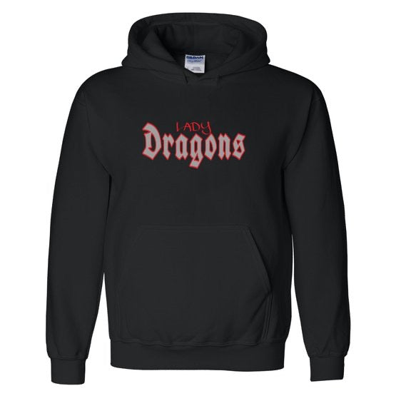 LADY DRAGONS HOODIE (official Dragons team gear)