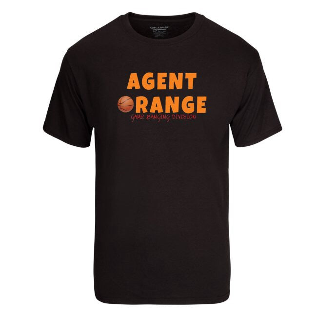 AGENT ORANGE: GAME BANGING DIVISION TEE by LABCITY