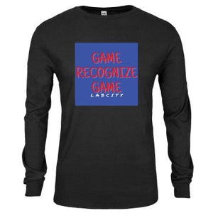 MENS GAME RECOGNIZE GAME L/S TEE