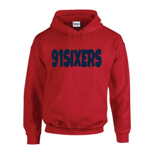 91Sixers Hoodie (All Red Everything Collection)