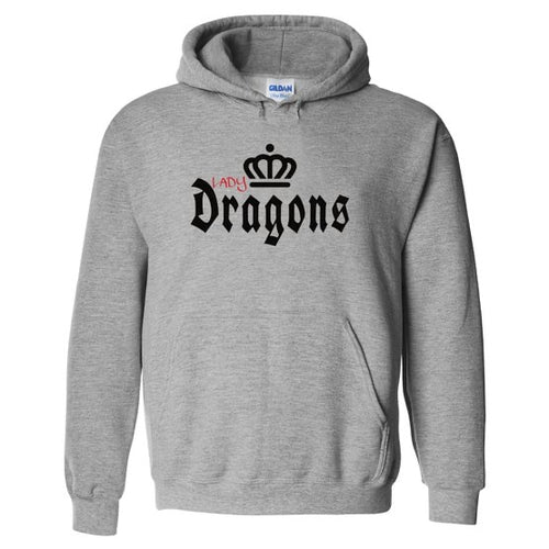 Lady Dragons (Crown) Hoodie